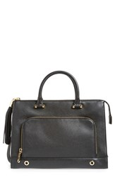 Milly 'Astor' Leather Tote Black