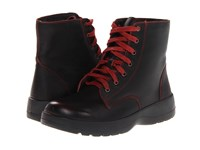 Naot Footwear Caribou Volcanic Red Leather Women's Boots Black