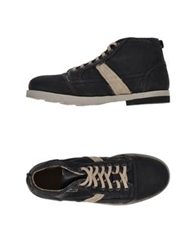 O.X.S. High Tops And Trainers Black