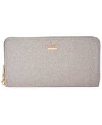 Kate Spade New York Glitter Lacey Wallet Graphite