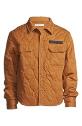 Men's Dickies Construct Quilted Canvas Overshirt