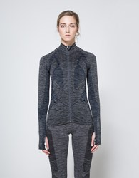 Lndr Base Jacket In Charcoal Charcoal Marl