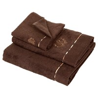 Roberto Cavalli Basic Towel Brown 833 Guest Towel