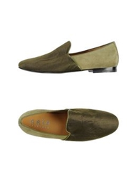 Naif Moccasins Military Green
