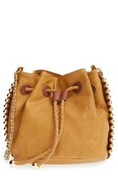 Big Buddha Mini Bucket Bag Brown