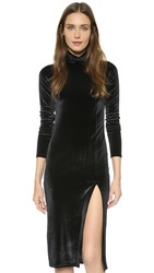Rachel Pally Velour Alba Dress Black