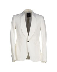 Tom Rebl Suits And Jackets Blazers Men White