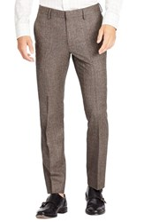 Bonobos Men's 'Fashion Foundation' Flat Front Wool Trousers
