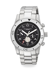 Saks Fifth Avenue Stainless Steel Automatic Chronograph Watch