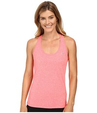 New Balance Heathered Jersey Tank Top Guava Heather Women's Sleeveless Pink