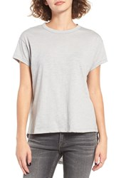 Articles Of Society Women's Gwen High Low Tee Heather Grey
