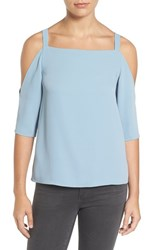 Cooper And Ella Women's Strappy Cold Shoulder Top