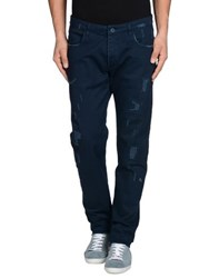 Officina 36 Denim Denim Trousers Men Dark Blue