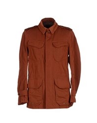 Allegri Coats And Jackets Jackets Men Brown