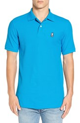 Psycho Bunny Men's Classic Pique Pima Cotton Polo Spartan