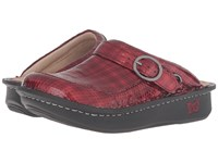 Alegria Seville Cherry Cube Women's Clog Shoes Red