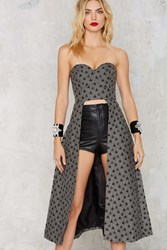 Nasty Gal Asilio Don't Be Shy Cutout Bustier