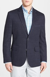 Men's Flynt Classic Fit Jersey Knit Linen And Cotton Sport Coat
