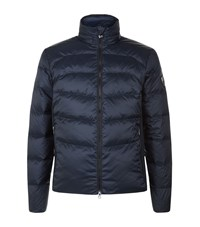 Armani Ea7 Down Quilted Jacket Male Navy