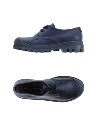 Opening Ceremony Lace Up Shoes Dark Blue