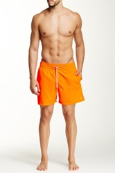 Le Club Neon Orange Swim Short