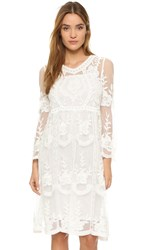 Endless Rose Lace Dress Off White
