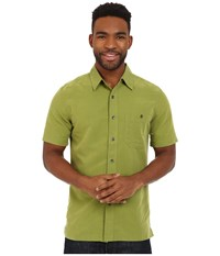 Royal Robbins Mojave Desert Pucker S S Cactus Men's Short Sleeve Button Up Green
