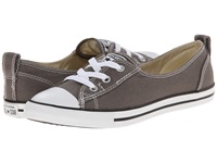 Converse Chuck Taylor All Star Ballet Lace Slip Charcoal Women's Shoes Gray