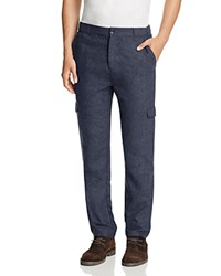 Native Youth Surge Slim Fit Cargo Pants Navy