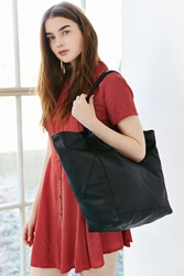Bdg Seams Leather Tote Bag Black