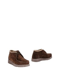 Barracuda Ankle Boots Brown