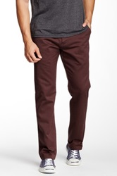Quiksilver Class Act Chino Pant Red