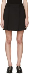 Jil Sander Black Wool Shorts