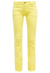 Cimarron Gloria Bootcut Jeans Lemon Yellow