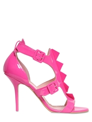 Moschino Cheapandchic 100Mm Patent Leather Sandals Pink