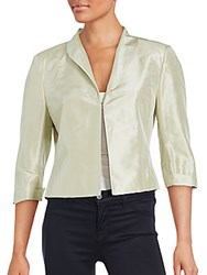 Pauw Solid Cropped Jacket Metallic