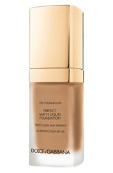 Dolce And Gabbana Beauty Perfect Matte Liquid Foundation Soft Tan 160