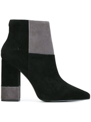 Senso 'Warren Ii' Block Heel Boots Black