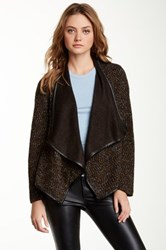 Daniel Rainn Boucle Swing Jacket Black