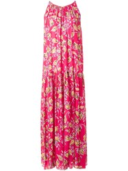 Megan Park 'Saya' Maxi Dress Pink And Purple