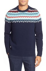 Men's Bonobos Fair Isle Lambswool Crewneck Sweater