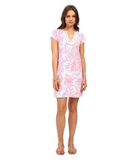 Lilly Pulitzer Harper Dress Pink Pout Too Much Bubbly Women's Dress