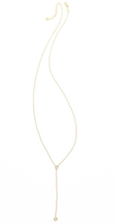 Jacquie Aiche Ja Bezel Rosary Necklace Yellow Gold