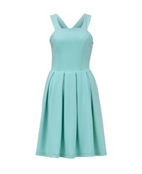 Maiocci Collection Cross Back Skater Dress Mint