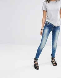 Noisy May Eve Super Slim Jeans Blue 34In