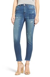 One Teaspoon Women's 'Skipper Scallywags' Distressed High Waist Skinny Jeans