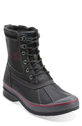 Clarks 'Milwright Hi' Snow Boot Men Black