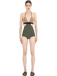 Frida Querida Clio Reversible Lycra One Piece Swimsuit