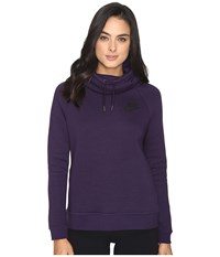 Nike Rally Pullover Hoodie Purple Dynasty Purple Dynasty Black Women's Sweatshirt