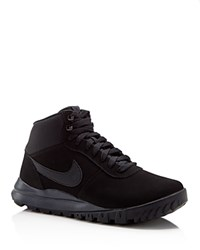 Nike Hoodland Suede Waterproof Sneakers Black